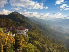 MOUNT MONSERRATE, BOGOTÁ, COLOMBIA - South America's 12 countries cover a lot of ground, and are just about as varied as it gets.