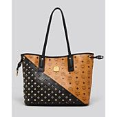 MCM Tote - Exclusive Bi Color Stud Shopper