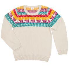 Nordic Reindeer Sweater | Polarn O. Pyret USA