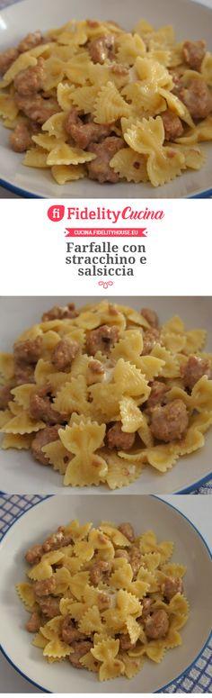 The Different Pastas in Italian Food Creamy Pasta Recipes, Baked Pasta Recipes, Pasta Salad Recipes, Sausage Recipes, Pesto Sauce For Pasta, Easy Pasta Salad, Risotto, Italian Dinner Recipes, Italy Food