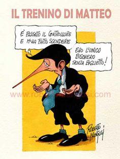 """Il Mondo in una Vignetta di Roberto Mangosi: il """"portoghese""""..."""