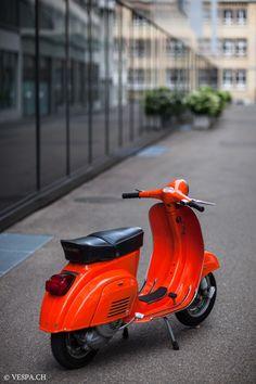 Vespa Primavera 1975, Orange, im O-Lack, Originallack, Vespa Smallframe wie Vespa 50SS, ET3, VE8PA.CH-5
