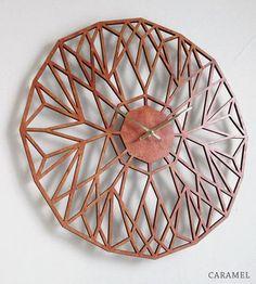 North-star-laser-cut-wood-clock-1415134092
