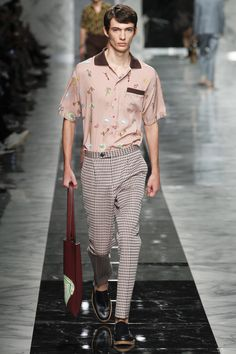 Fendi Spring 2018 Menswear Fashion Show Collection