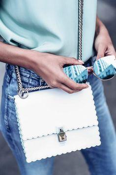 Mint Moment. This white Fendi Bag ... ca173c3d20792