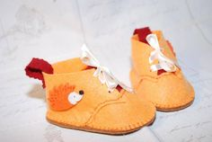 chaussons herisson - chaussures enfants - crealol - Fait Maison