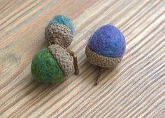 Cute ideas for needle felting.
