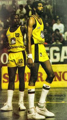 Eddie Phillps & Mike Harper. CB Canarias, 87/88.