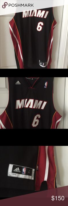 fc6b3df61108 LeBron James Miami Heat authentic Jersey Never been used Jersey. Offered  here is an authentic