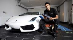 Britain's most expensive car wash takes a month and charges £7,200 to clean luxury motors