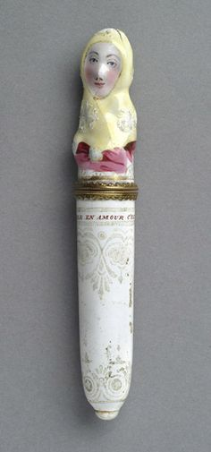 Needle Case England, 1765  The Philadelphia Museum of Art - from OMG That Artifact! *