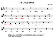 Beth's Music Notes: This Old Man