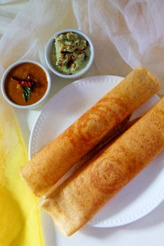 Mixed Lentils Dosa - Mixed Lentils Dosa is an Indian savory crepe made with a combination of lentils with no rice added. Served with some sambar and chutney. Healthy Meal Prep, Healthy Salad Recipes, Vegan Recipes, Cooking Recipes, Vegetarian Cooking, Indian Dosa Recipe, Savory Crepes, Desi Food, Best Breakfast Recipes