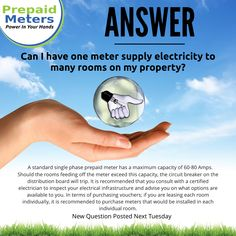 Answer 21: Can I have one meter supply electricity to many rooms on my property?
