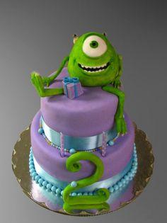Monster's Inc Birthday Cake