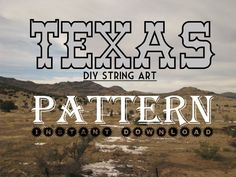 New Pattern Uploaded! Texas!   DIY State String Art Pattern  Texas  10 x 10.5  Hearts and stars included by NineRed, $6.00