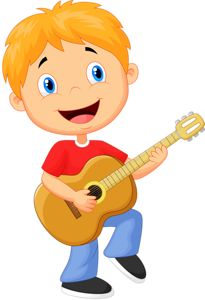 Free guitar boy pull pattern PNG and Clipart Drawing For Kids, Painting For Kids, Art For Kids, Cute Little Boys, Cute Kids, Guitar Clipart, Guitar Boy, Flashcards For Kids, Cute Clipart