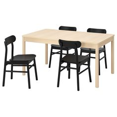Rönninge   Rönninge (IKEA Table And 4 Chairs) ( Furniture > Dining Furniture > Dining Table   Chair > Dining Sets ) #79390020