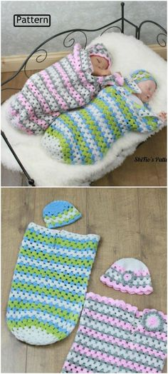 Crochet Baby Cocoons All The Cutest Ideas You'll Love Sie Baby Kokon Crochet Baby Cocoons All The Cutest Ideas You'll Love Crochet Baby Cocoon Pattern, Baby Blanket Crochet, Crochet Baby Beanie, Crochet Baby Clothes, Newborn Crochet, Crochet Baby Stuff, Crochet For Kids, Love Crochet, Crochet Mermaid