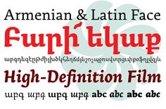 Best Foreign Language Feature: Arek from Rosetta Type Foundry #typography #fonts #2013