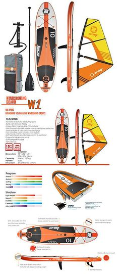 Windsurfing 2920: Zray Inflatable Windsurfing Sup W1 10 Board Paddle Rig Pump Bag , Stand Up -> BUY IT NOW ONLY: $698 on eBay!