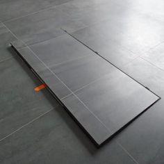 cave vin enterr e en pr fabriqu b ton une cuisine. Black Bedroom Furniture Sets. Home Design Ideas