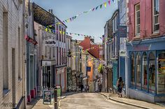 The High Street, Falmouth, Cornwall