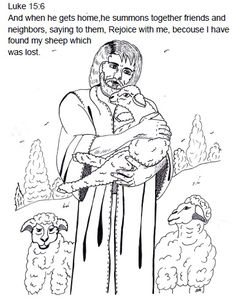 The Parable Of Lost Sheep Sunday School Lesson Ideas