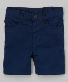 Navy Pocket Shorts #zulily #zulilyfinds