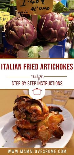 Dreaming of those delicious Italian style fried artichokes you tasted on vacation? Learn how to make them at home with this easy to follow recipe for fried artichokes, a Rome recipe you can easily make at home Vegetarian Appetizers, Appetizer Recipes, Rome Food, Artichoke Recipes, Recipe Steps, Artichokes, International Recipes, Italian Style, Italy