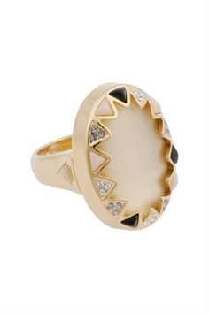 House of Harlow cocktail ring, RTR.