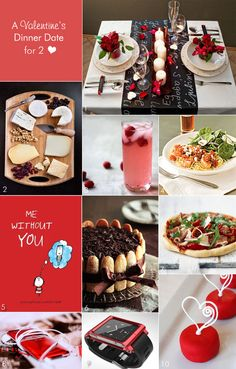 Valentine's dinner date ideas for home! Great way to plan a Valentine's proposal. #weddingproposals