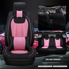Luxury leather car seat cover universal Car-Covers for Hover H5 H6 M4 four seasons cars cushion car-styling 5 seat set