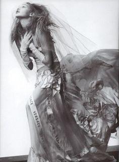 Sasha Pivovarova in 'Fa La Folie'. Craig McDean. Vogue Paris, April 2012.