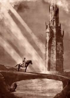 Limited Edition screen print inspired by The Dark Tower. Dark Tower Art, The Dark Tower, Fantasy World, Fantasy Art, Stephen King Tattoos, Stephen King Books, Magnum Opus, Pop Culture Art, Lotr