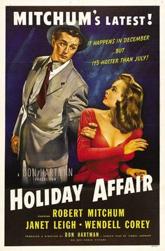 Watch Holiday Affair (1949) Full Movie Online Free