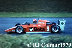 Eddie Cheever - Osaella FA2/79 BMW - Osella Squadra Corse - XXXI International Trophy 1979 - Silverstone