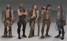 Sons of Anarchy - Characters Study Character Sheet, Character Art, Character Design, Character Reference, Sons Of Anarchy Characters, Character Illustration, Illustration Art, Sci Fi Characters, Zombie Apocalypse