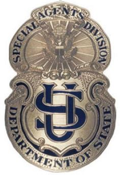 File:Bureau of Secret Intelligence - Diplomatic Security Service DSS 1916 Badge.jpg - Wikipedia, the free encyclopedia Law Enforcement Badges, Federal Law Enforcement, Law Enforcement Officer, Diplomatic Security Service, Us Department Of State, Fallen Officer, Fire Badge, Police Patches, Secret Service