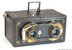Old Cameras, Vintage Cameras, History Of Photography, Photography Camera, Stereo Camera, 3d Photo, Gopro, Photos, Candy