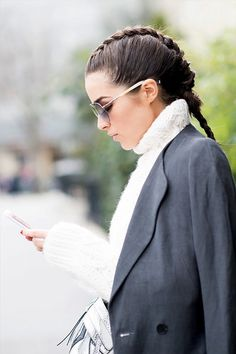 巴黎時裝周髮型潮流提示:7 最時尚的編髮造型!