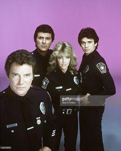 T.J. HOOKER - gallery - Season Two - 6/22/83, William Shatner (T.J. Hooker), James Darren (Jim Corrigan), Heather Locklear (Stacy Sheridan), Adrian Zmed (Vince Romano),