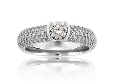 Engagement ring from the Reis-Nichols Bella Collection