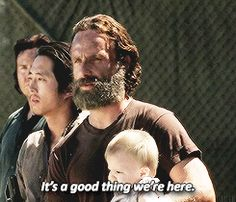TWD season 5, episode 12. Arrival at Alexandria. The Walking Dead quote.