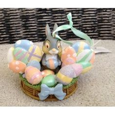 Disney Thumper Easter Egg Mickey Mouse Ears Hat Limited Edition Ornament