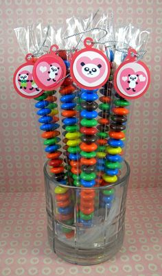 rainbow candy for art party