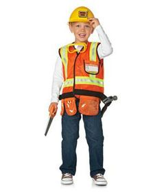 Construction Worker Play Set: Time to get to work with this role-playing set. Put on the reflective vest and hardhat, and join the crew to fix the house or repair the mailbox.