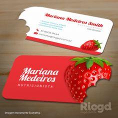 Cartão Slim - Corte Especial - Morango