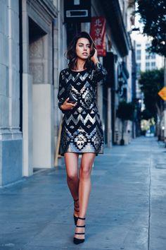 @expresslife Sequin dress #GiveStyle