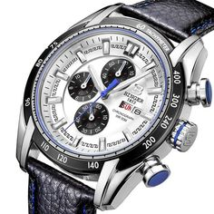 Diving Watches Men Luxury Brand Wristwatches Quartz Watch Chronograph